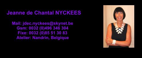 jeanne de chantal nyckees peintre aquarelliste animalier et sculpteur belge, aquarelliste belge, sculpteur belge