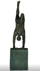 jeanne de chantal nyckees sculpteur terre cuite patine bronze acrobate 4