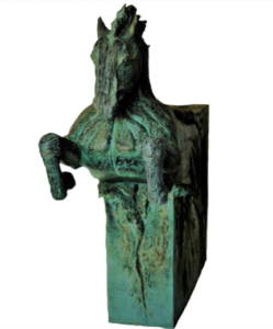 jeanne de chantal nyckees sculpteur terre cuite patine bronze cheval arion 4