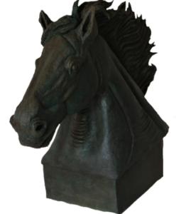 jeanne de chantal nyckees sculpteur terre cuite patine bronze cheval zephir 3