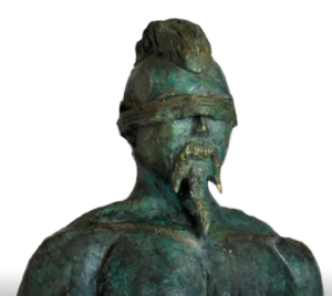 jeanne de chantal nyckees sculpteur terre cuite patine bronze supplicié statue 3